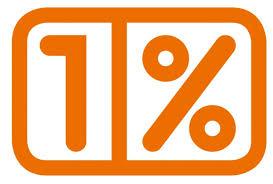 1 procent logo 3