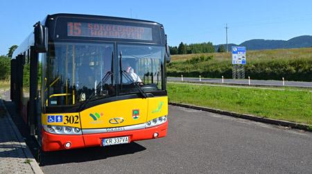 autobus 15 mieroszow
