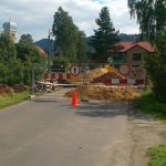 stary lesieniec remont mostu