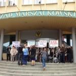 zaz protest urzad marszalkowski 2