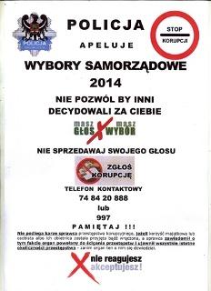 policja wybory