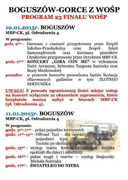 boguszw-gorce z  wosp