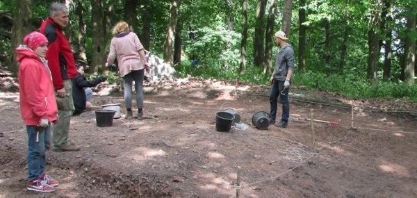 badania archeologiczne na Rogowcu