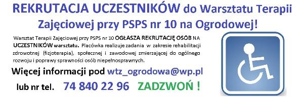 2015.10 Rekrutacja WTZ ogrodowa