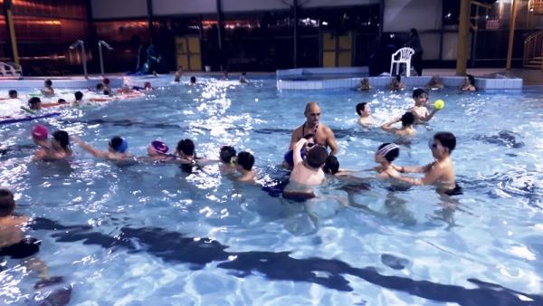 lekcje plywania
