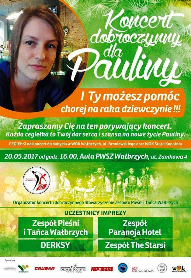 Koncert dla Pauliny plakat