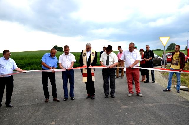 Otwarcie drogi Chwaliszow Sady