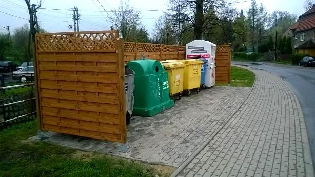 boks gniazdo recyclingu walim