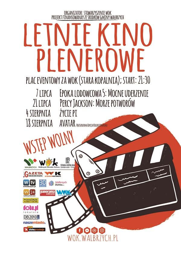 plakat Letnie Kino Plenerowe
