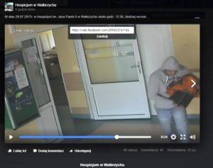 zlodziej w hospicjum