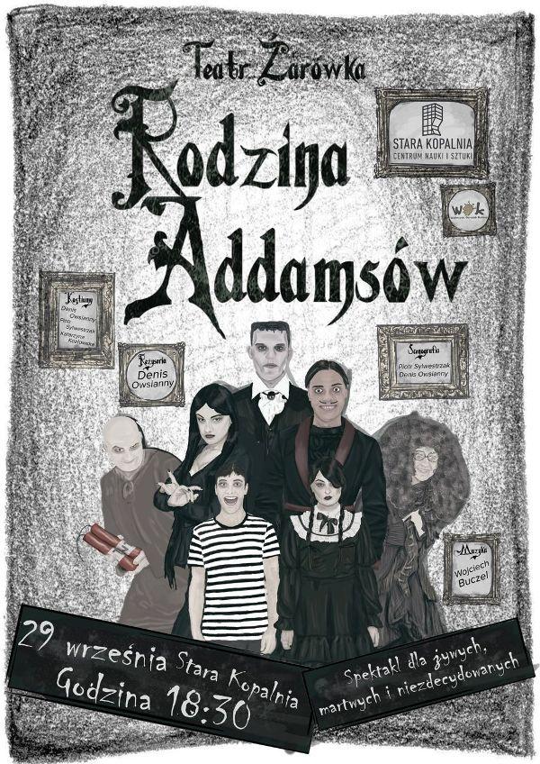 Rodzina Addamsow plakat