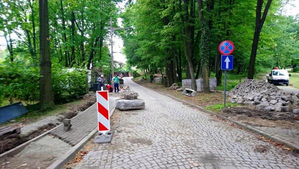 przebudowa ulic szczawno