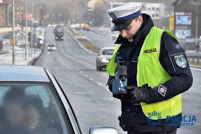 policja radar 2018