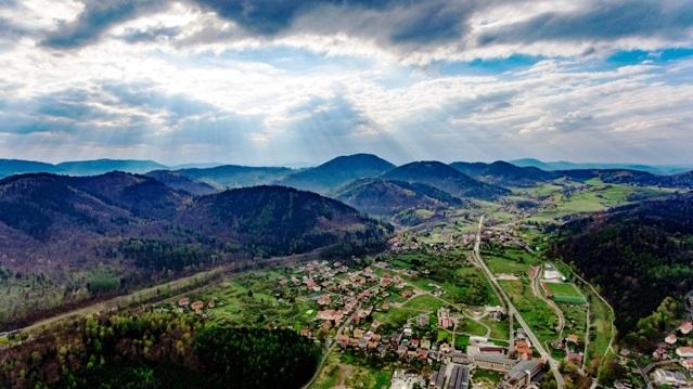 Panorama Jedliny - Zdroju